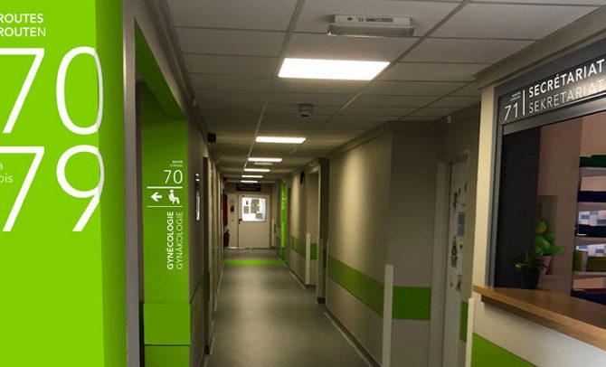 Le Centre Hospitalier Reine Astrid adopte le système des routes