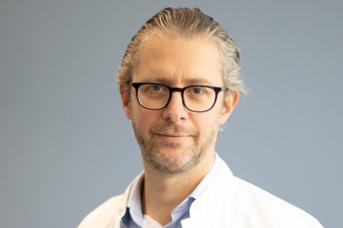 Le Docteur Vroonen, nouveau Directeur médical du CHRAM