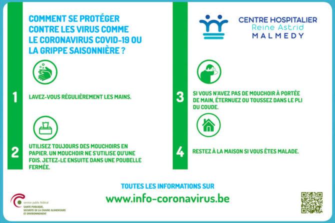 Comment se protéger contre le Coronavirus ?