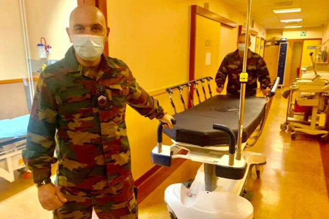 L'armée en soutien de notre personnel
